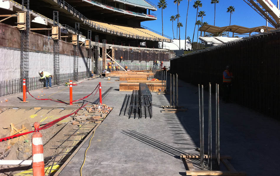 Dodgers Stadium Renovation Largo Concrete Inc