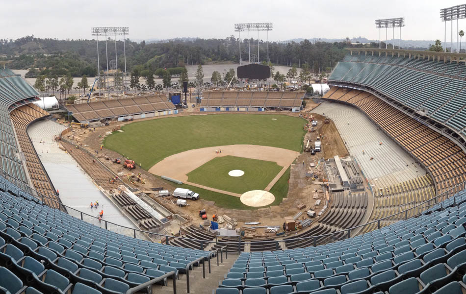 Dodgers' Stadium Renovation