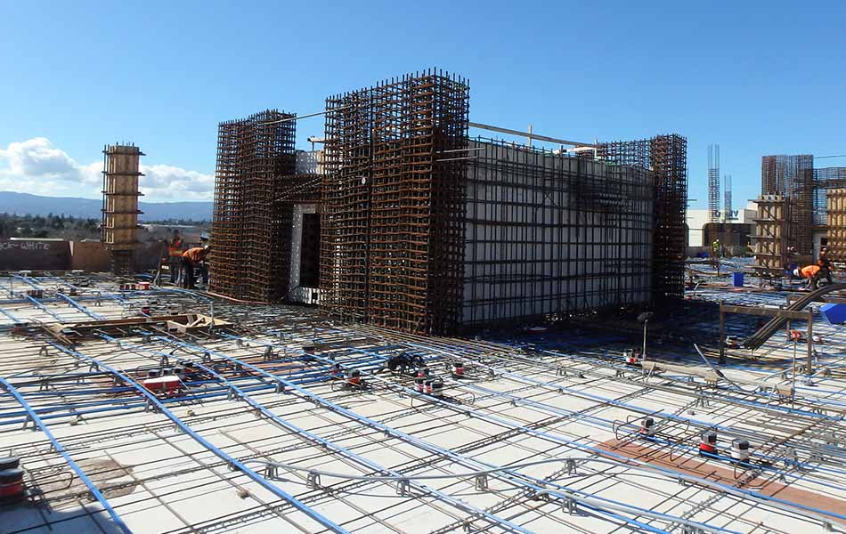 Silvery Towers Tops Out In San Jose Largo Concrete Inc
