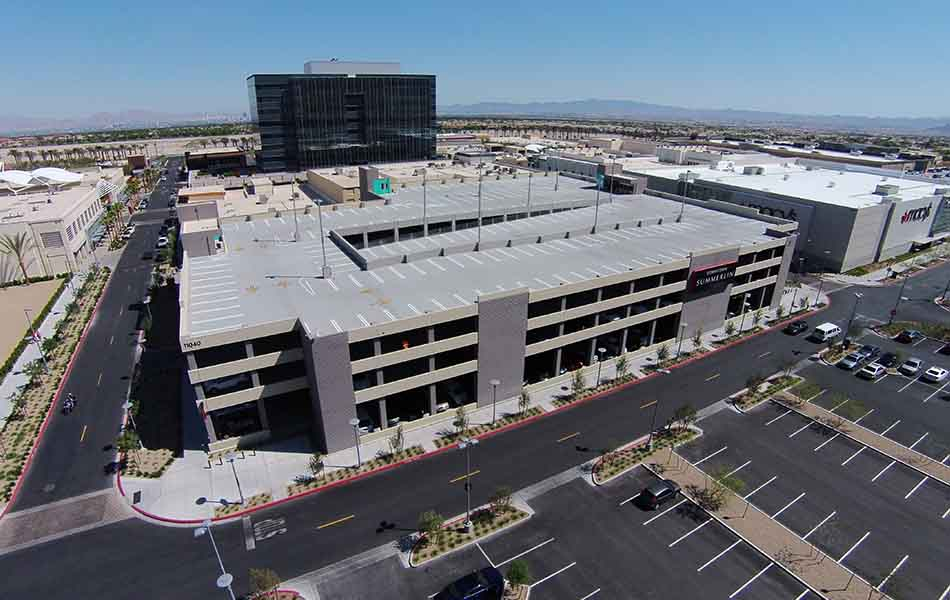 Downtown Summerlin Parking Structures
