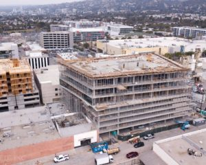Two CIM Group Projects Top Out in West Hollywood