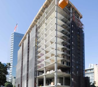 Carte Hotel Tops Out in San Diego