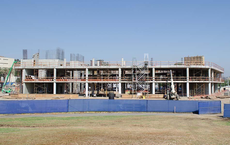 Cal Poly Pomona Student Services Bldg Largo Concrete Inc