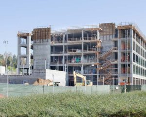 UC Riverside Multidisciplinary Research Building Tops-Out
