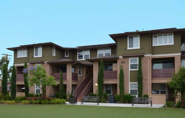 Lincoln Avenue Apartments Podium