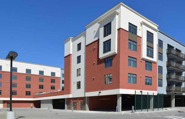 Rosebowl Apartments Podium