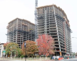 Silvery Towers Tops Out in San Jose