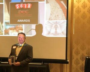 Decorative Concrete Council Award for USC Michelson