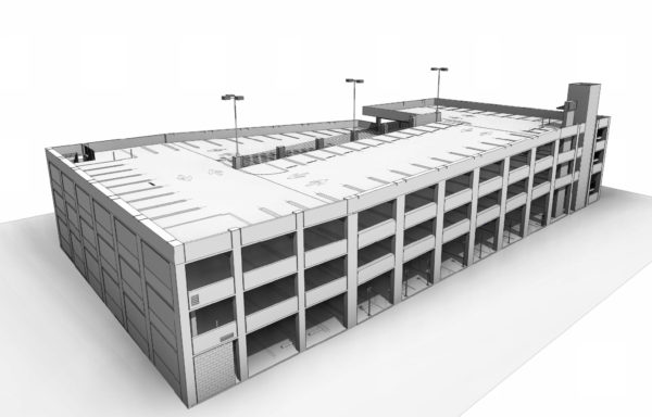808 Lilian Way Parking Structure