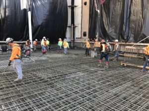 Miro Mat Foundation Pours Largo Concrete Inc